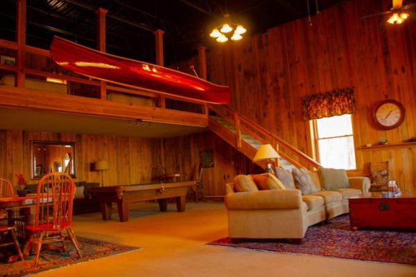 Living Room w/View of Loft