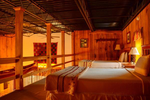 Loft Bed Area