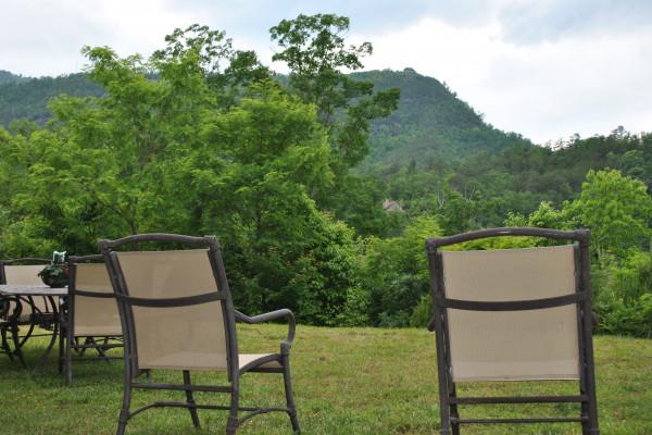 Yard & Mountain View