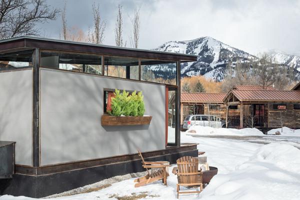 Exterior with Views of Jackson Hole Ski Resort