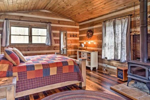 Bedroom & Stove