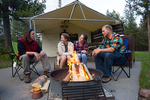 Book Colter Bay Tent Cabins Jackson Hole Wyoming All Cabins