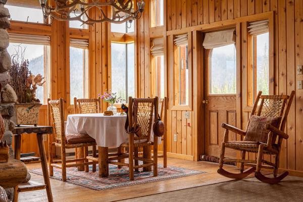 Cabin Dining Area