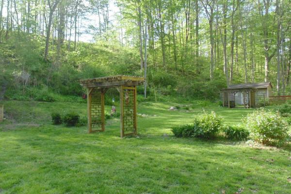 Backyard & Arbor