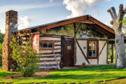 Davos Swiss Log Cabin