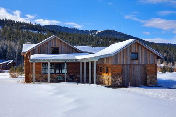 Huckleberry Cabin Exterior