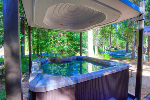 Oak Scape Hot Tub