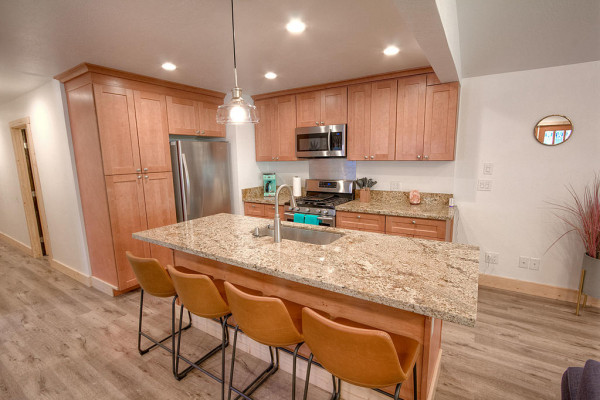 Oak Scape Kitchen