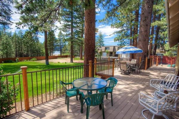 Meadow Lake Lodge Deck