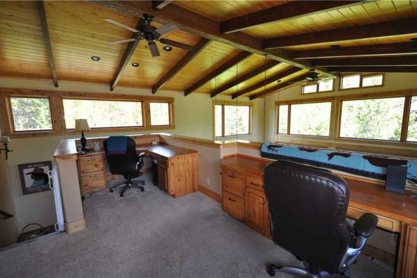 Upstairs Office Loft