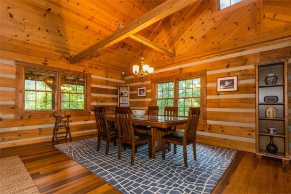 book oak ridge log cabin nashville indiana all cabins
