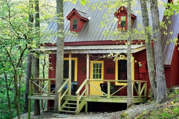 Book red cottage eureka springs arkansas all cabins for Cabine eureka ca