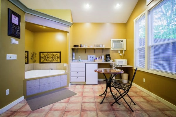 Bath and Kitchenette