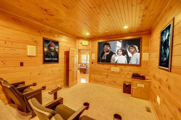 Cabin: Home Theatre; Home Theatre