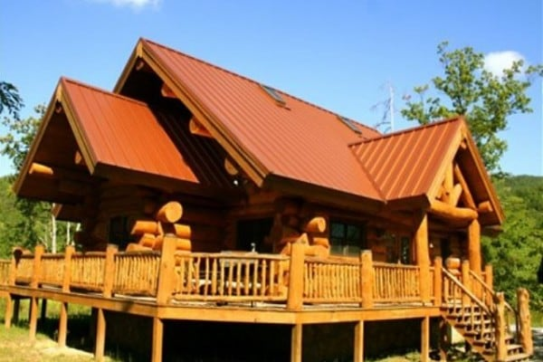 Book copper ridge gatlinburg tennessee all cabins for Large cabin rentals in tennessee