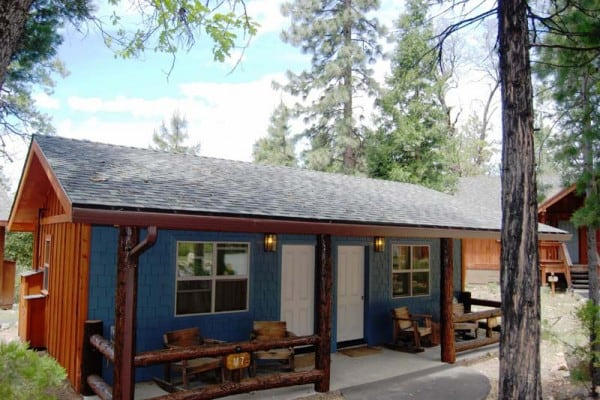 Vintage Cabin Exterior