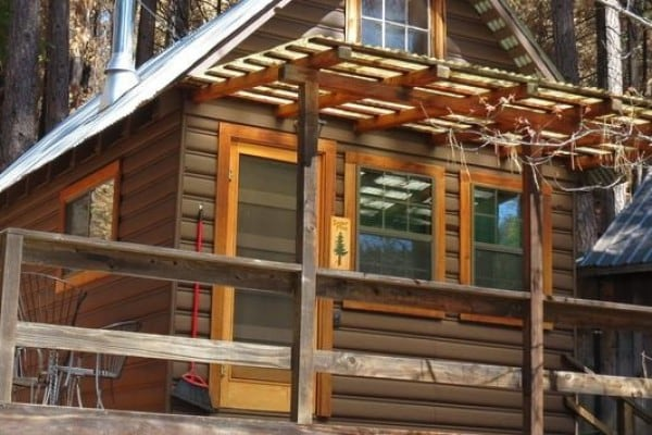 Sugar Pine Cabin Exterior