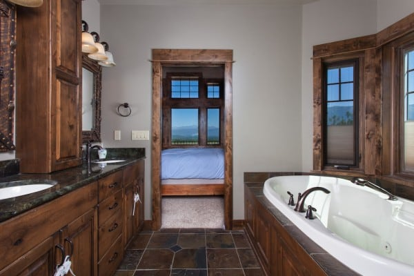 Bathroom with Jetted Tub