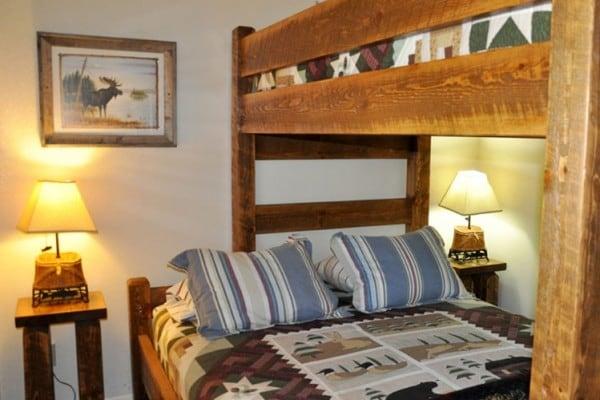 Bedroom with Twin over Queen Bunk