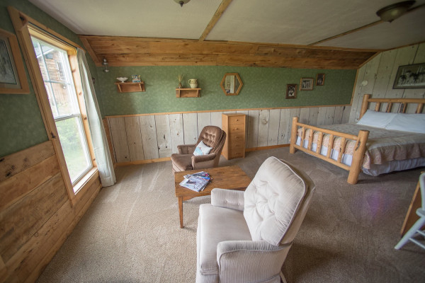 Cabin Four - Sitting Room