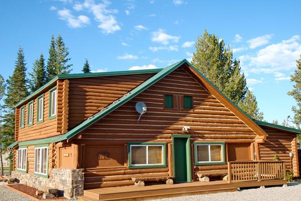 Absaroka Cabin - Exterior