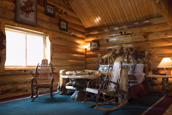 Madison Cabin - Bed