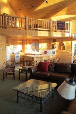 Lakeside Luxury Cabin - Interior