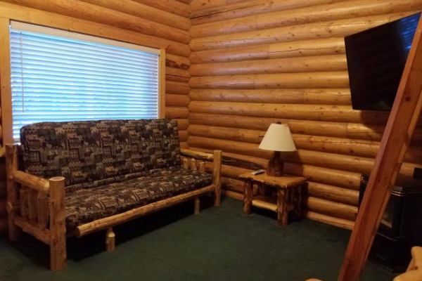 Lakeside Cabin - living space