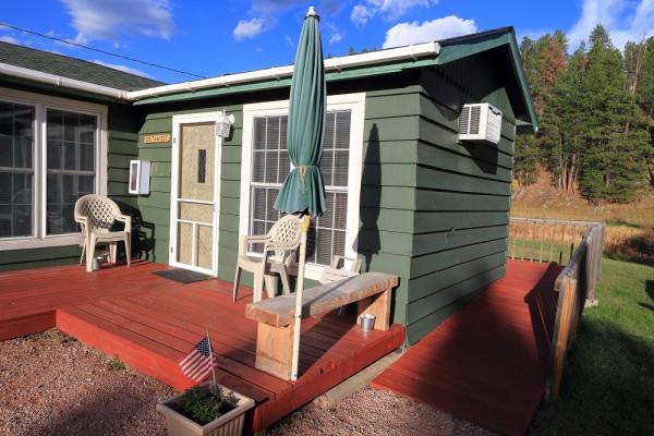 Southwestern Cottage Front Porch