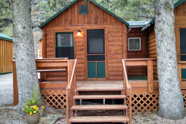Exterior of Cabin 3