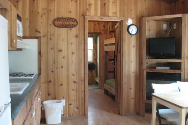 Kitchen into Bedroom