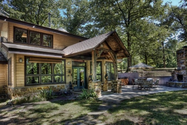 Top 25 Rent To Own Homes In Hot Springs National Park Ar: Book Wits End Cabin, Eureka Springs, Arkansas