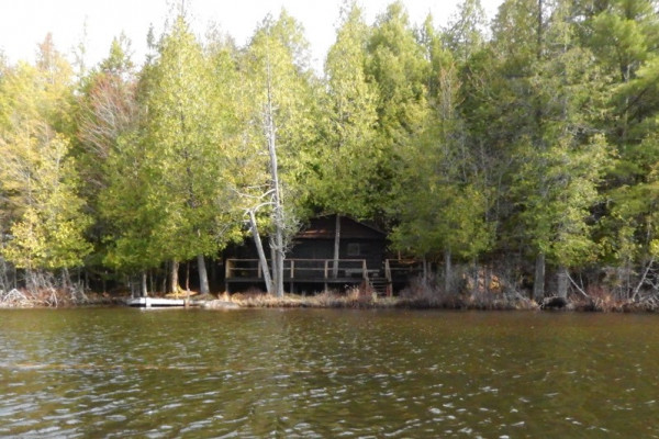 Cabin from the Lake