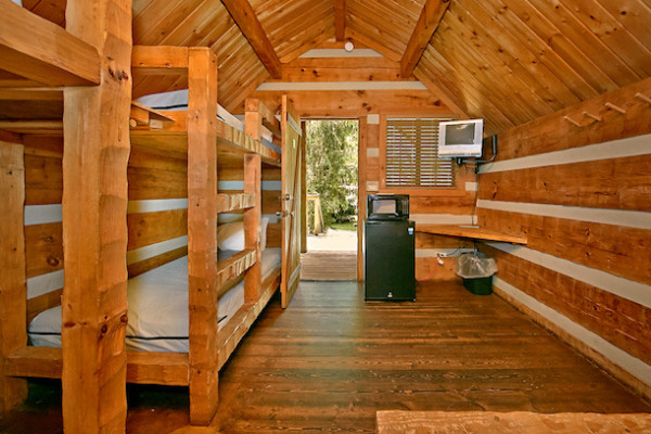 Camping Cabin Bunks