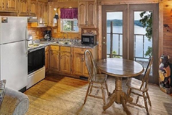 Kitchen & View