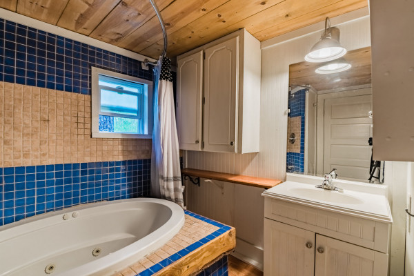 Bathroom and Jetted Tub