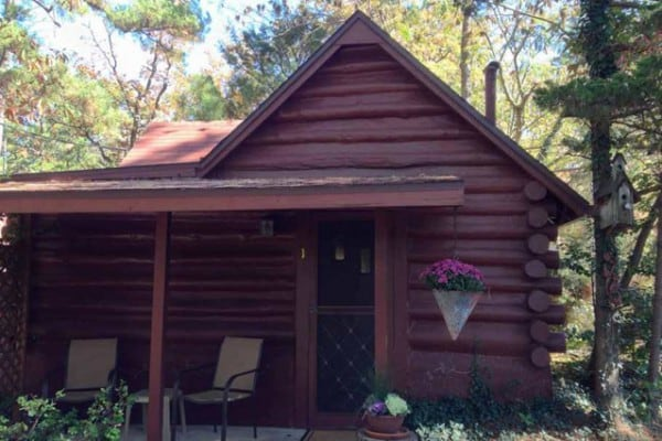 Book king log cabin eureka springs arkansas all cabins for Cabine eureka ca