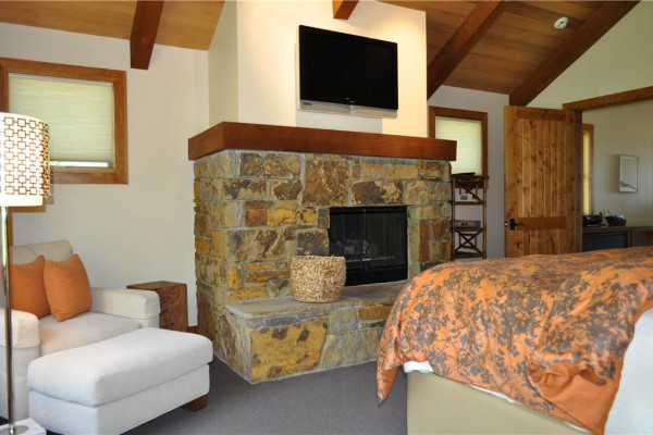 Fireplace in Bedroom