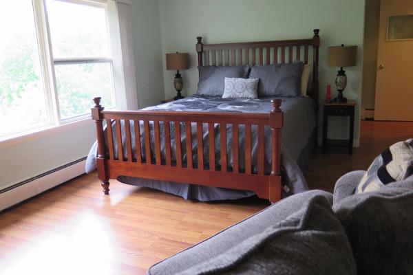 2nd floor open bedroom