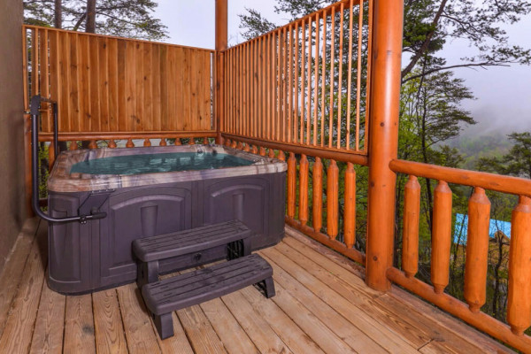 Hot Tub & Deck