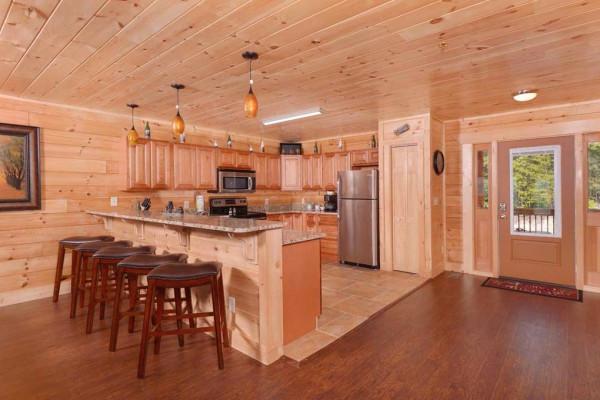 Kitchen to the Deck