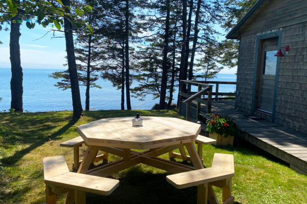 View from Picnic Table