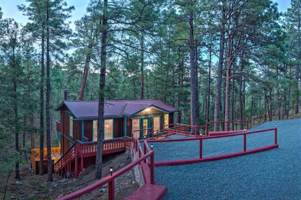 com good cabin howexgirlback rentals nm bear x cabins in cozy beag ruidoso