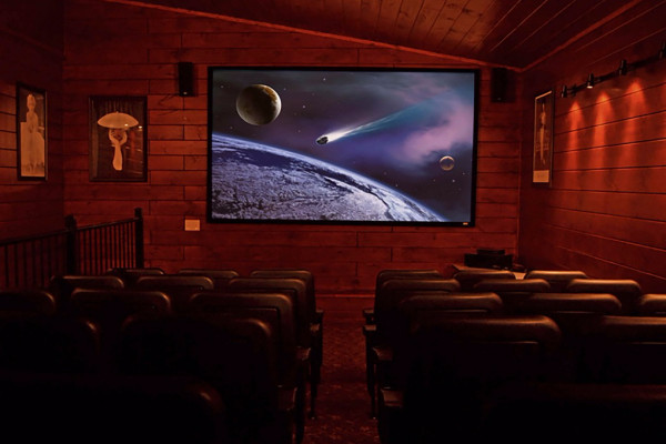 Home Theatre Room for 54