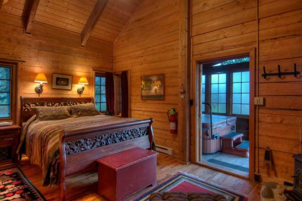 Main Room into Porch