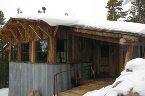 Fritz Hut Exterior
