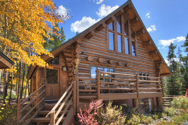 breckenridge colorado cabin rentals getaways all cabins