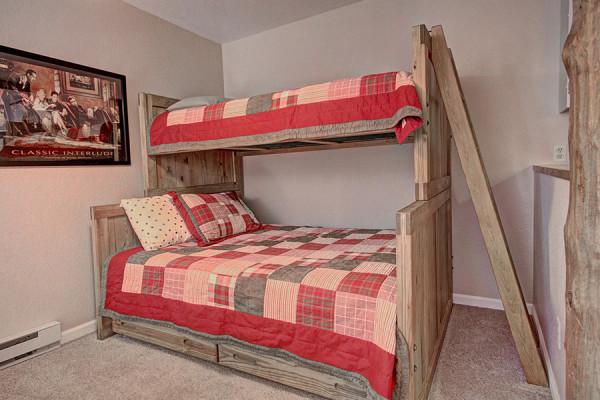 Sleeping area in Rec Room
