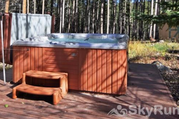 Book dancing moose lodge breckenridge colorado all cabins for Cabin rentals in maine with hot tub