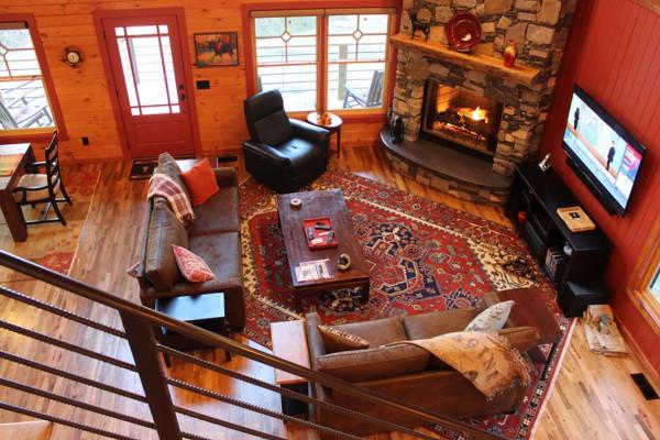 Overlooking Living Room